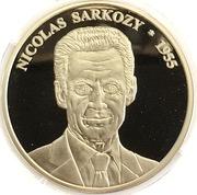 Token - Les présidents Français (Nicolas Sarkozy) – obverse