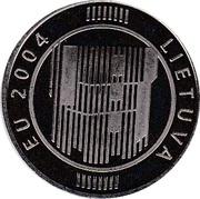 Token - Lietuva EU 2004 – obverse