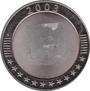 Token - Lietuva EU 2004 – reverse