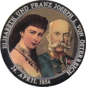 Token - 1000th Anniversary of Austria – obverse