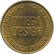 10 Pence - Omega Design – obverse