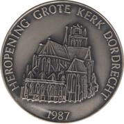 Souvenir Token - Dordrecht (Grote Kerk) – reverse