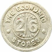 2 Shillings 6 Pence - The Economic Stores (Halifax) – obverse