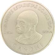 Medal - Grandes Estadistas Do Mundo (Mahatma Gandhi) – obverse
