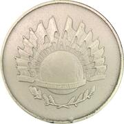Medal - Grandes Estadistas Do Mundo (Mahatma Gandhi) – reverse