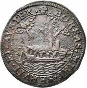 Token - Balthazar de Lauretten, intendant of the Brussels canal – reverse
