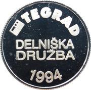 Token - Tegrad (Ljubljana) – reverse