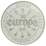 Token - Europe (Greece) – reverse