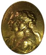 Medallion - Albert I and Elisabeth – obverse