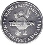 Token - Téléthon (Seine-Saint-Denis) – obverse