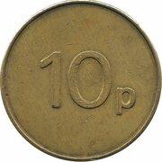 10 Pence - Lyngard Automatics – reverse