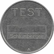 Telephone Token - Test Schlumberger (St. Petersburg ) – obverse