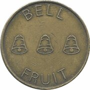 20 Pence - Bell Fruit Token – obverse