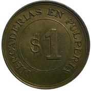 1 Peso - Oficina Britannia – reverse