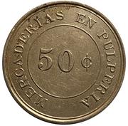 50 Cents - Oficina Britannia – reverse