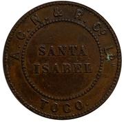 20 Centavos - A.C.N. & R Co LD. (Santa Isabel) – obverse