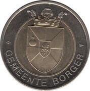Token - Borger (Nationaal Hunebedden Informatiecentrum) – obverse