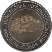 Token - Borger (Nationaal Hunebedden Informatiecentrum) – reverse