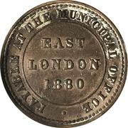 1 Penny Ferry Token - East London – obverse