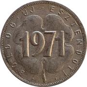Token - Happy New Year 1971 – reverse