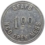 1 Dollar - GFAFB NCO Open Mess (Grand Forks, North Dakota) – obverse