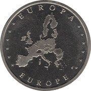 Token - Europa (The Netherlands) – reverse