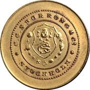 Token - C. C. Sporrong & Co. – obverse