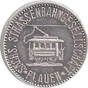 5 Pfennig (Plauen - Strassenbahn) – obverse