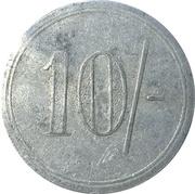 10 Shilling - J. B. Crofts & Sons (Elm, Cambridgeshire) – reverse