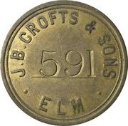 20 Shilling - J. B. Crofts & Sons (Elm, Cambridgeshire) – obverse