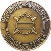 Token - Slovenska vojska (Gardni bataljon) – reverse