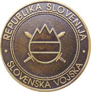 Token - Slovenska vojska (Garda) – reverse