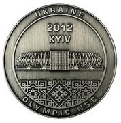 Token - EURO 2012 (Kyiv - Motherland Monument) – obverse