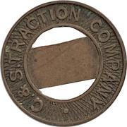 1 Fare - C. & S. Traction Company (New London, Connecticut) – obverse