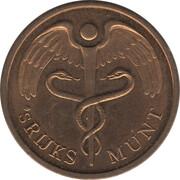 Royal Dutch Mint Set Token - Friesland – reverse