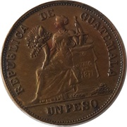 1 Peso - United States of America – obverse