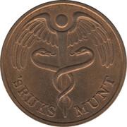Token - Royal Dutch Mint (visit) – reverse