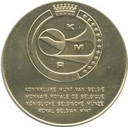Token - Royal Belgian Mint (Numismatica Tienen E.G.M.P.) – reverse