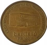 Warszawski dukat komunikacyjny - II emisja (Jelcz Berliet PR100) – obverse
