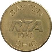 1 Senior Fare - Dayton RTA (Dayton, Ohio) – obverse