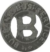 1 Fare - Burbank Bus Service (Burbank, California) – obverse