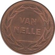 Token - Van Nelle (Braspenning) – reverse