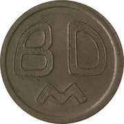 Token - BDM – reverse