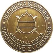 Token - Slovenska vojska (132. GORB) – reverse
