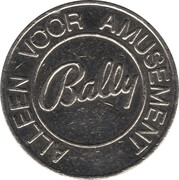 Token - Bally (Glenn) – reverse