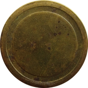 Blank Token (with circle; 22.5 mm) – obverse