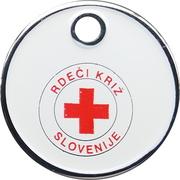 Shopping Cart Token - Slovenian Red Cross – obverse