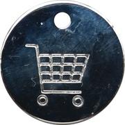 Shopping Cart Token - Slovenian Red Cross – reverse