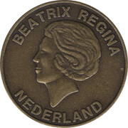 Token - United Europe - CEPT (The Netherlands) – obverse