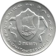 5 Meriti - Republic Ragazzi (Civitavecchia) – obverse